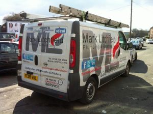 Vehicle wrapping in Manchester