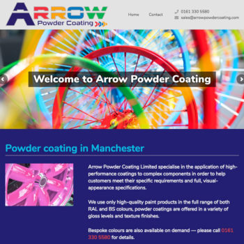 Powder Coating in Manchester