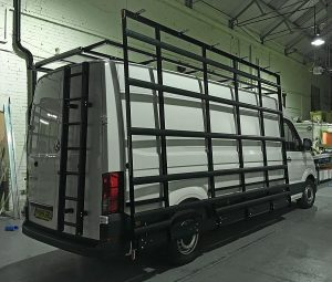Glass Racks and Frails for Glazing Vans